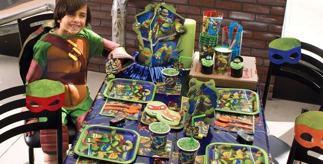 Teenage Mutant Ninja Turtle Party Supplies, TMNT Party, Teenage Mutant Ninja Turtle Party Ideas