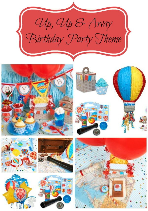 Up Up and Away Birthday Party Theme
