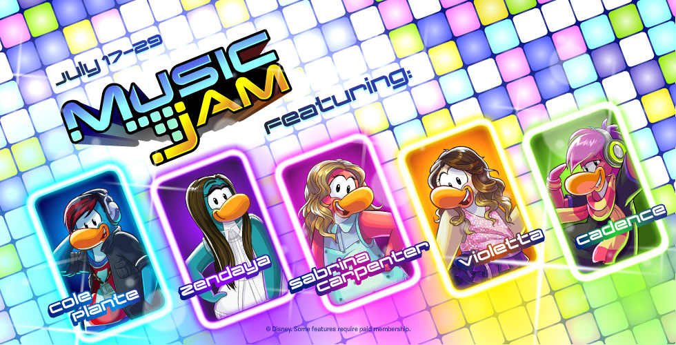 Club Penguin Music Jam, Disney Music Stars