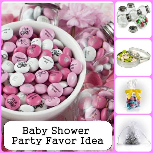 Baby Shower Party Favor Idea