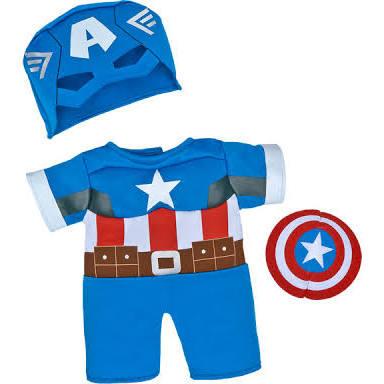 Captain America Bear Costume