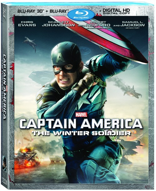 Captain America Winter Soldier 3D Combo