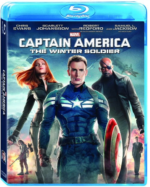 Captain America Winter Soldier Bluray