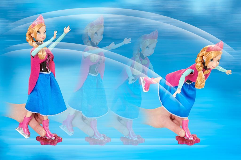 Disney Frozen Anna Ice Skating Doll, Disney Frozen Dolls, Anna Doll