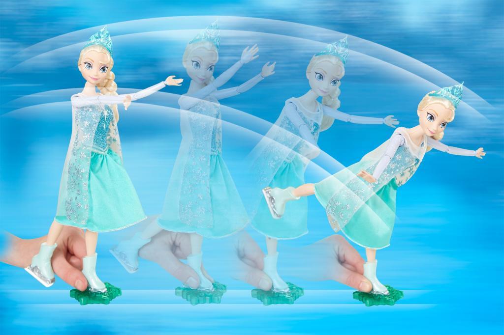 Disney Frozen Elsa Ice Skating Dolls, Disney Frozen Dolls, Elsa Dolls