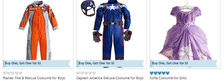 Disney Store Online Sale BOGO1-01