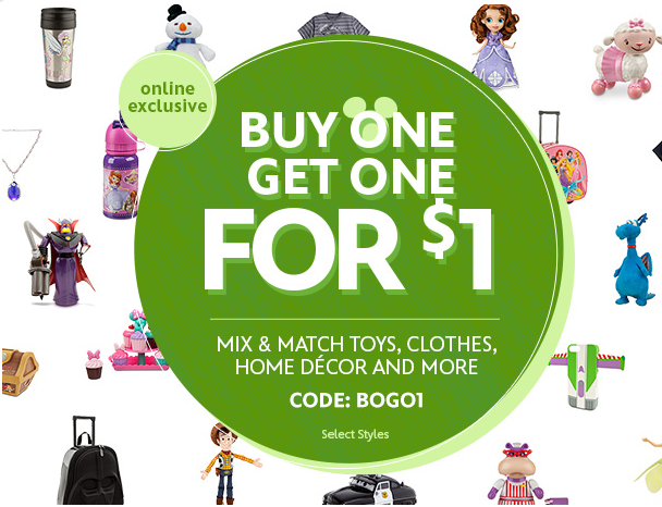 Disney Store Online Sale BOGO1