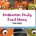 Looking for some spooktacular Halloween Party Foods for Kids? We have 8 fun and easy recipes that are sure to delight kids and adults alike!   Halloween Party Food Ideas   Halloween Food for Kids   Halloween Recipes