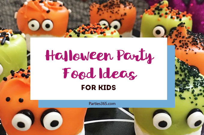 Looking for some spooktacular Halloween Party Foods for Kids? We have 8 fun and easy recipes that are sure to delight kids and adults alike! | Halloween Party Food Ideas | Halloween Food for Kids | Halloween Recipes