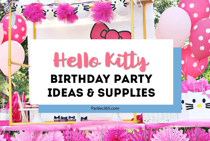 hello kitty birthday party ideas and supplies