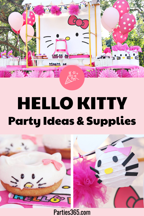 Hello Kitty Birthday Party Ideas And Supplies Parties 365