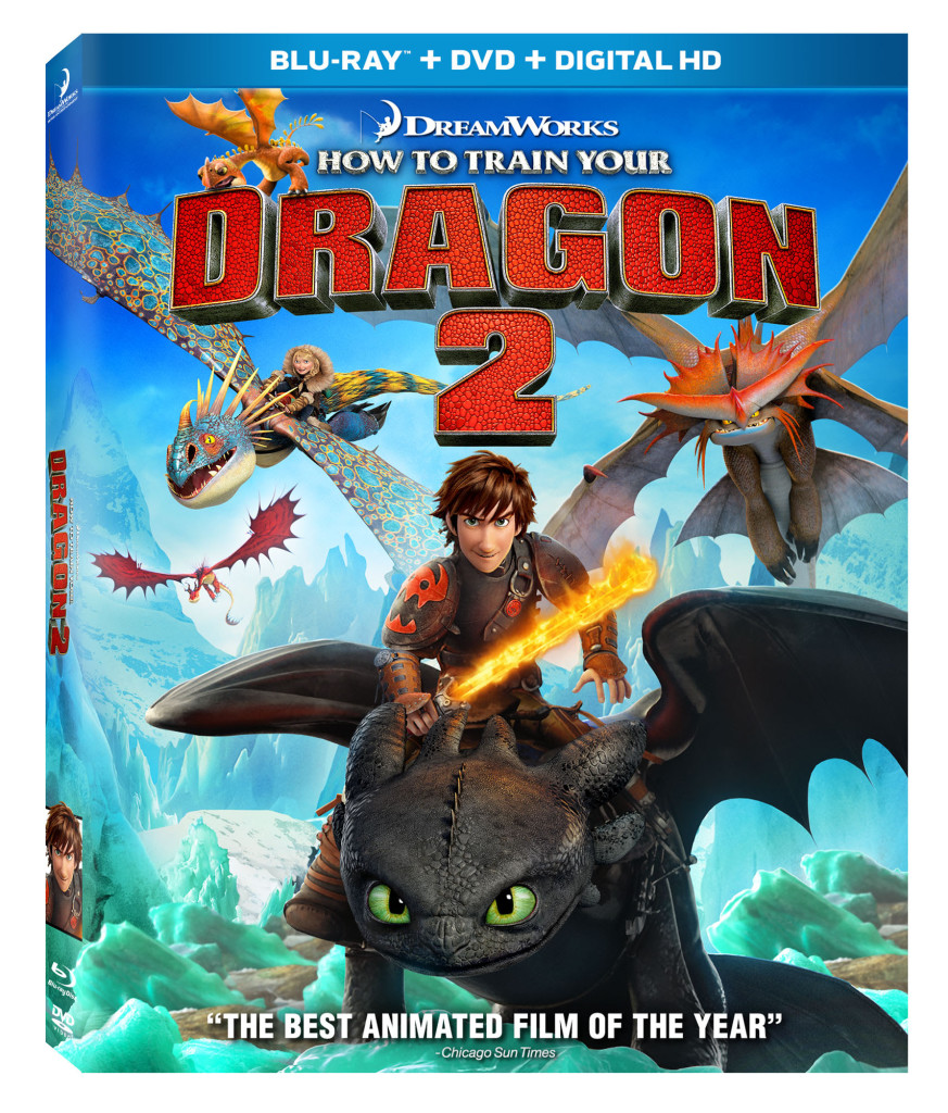 How to Train Your Dragon 2 Blu-ray, How to Train Your Dragon 2 DVD