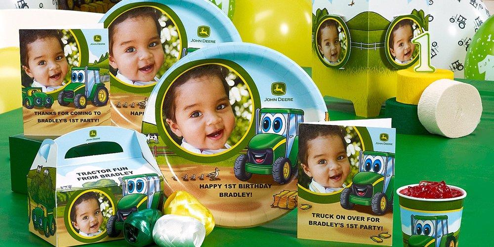 Johnny Tractor 1st Birthday Theme