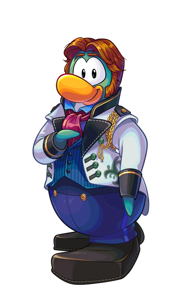 Disney Frozen Club Penguin, Hans Club Penguin