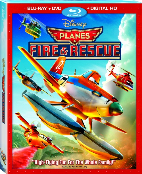 Disneys-Planes-Fire-And-Rescue-Bluray, Disney movies, Disney Blu-rays