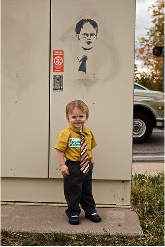 Dwight K Schrute from The Office Halloween Costume