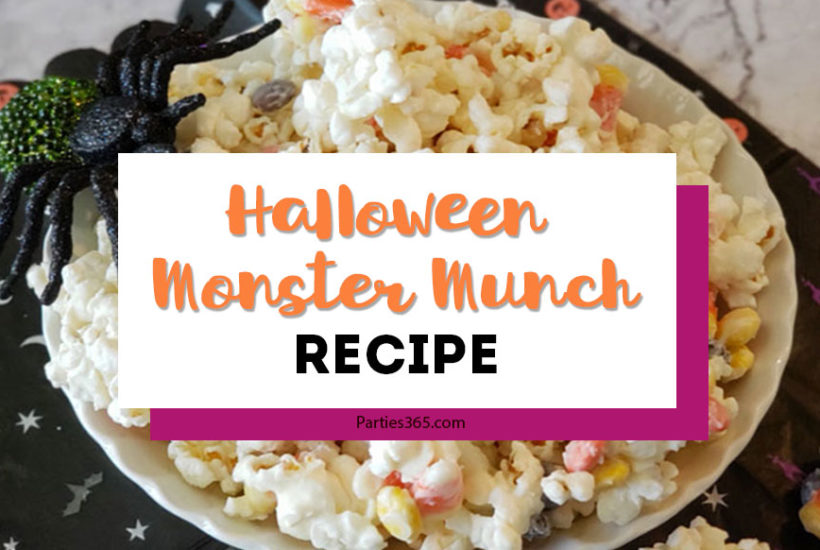 Halloween Monster Munch Recipe