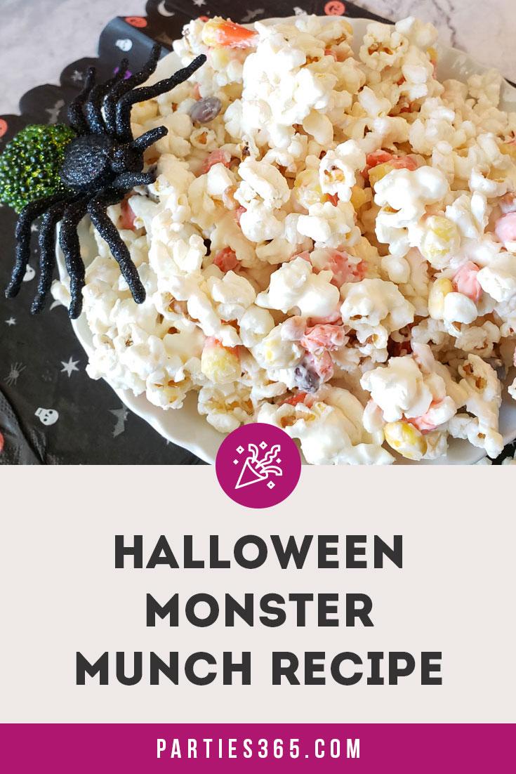 halloween monster munch popcorn recipe