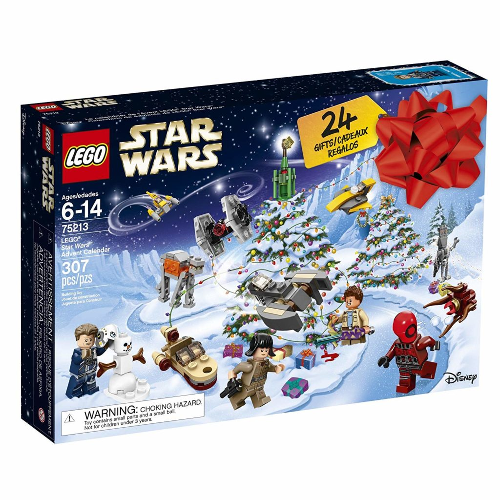 Are you looking for an Advent Calendar for Christmas 2018? We found an awesome idea for kids who are Star Wars lovers! This LEGO Advent Calendar is the perfect holiday gift. #Christmas #holidays #advent #lego #giftideas #parties365