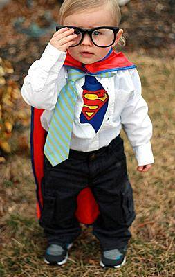 baby super man halloween costume