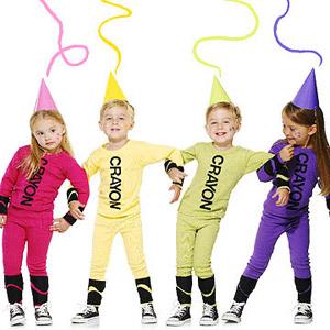 kids crayon halloween costume