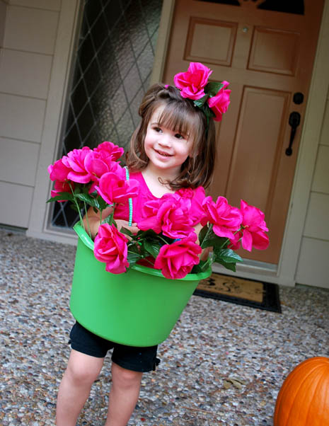 kids flower pot halloween costume