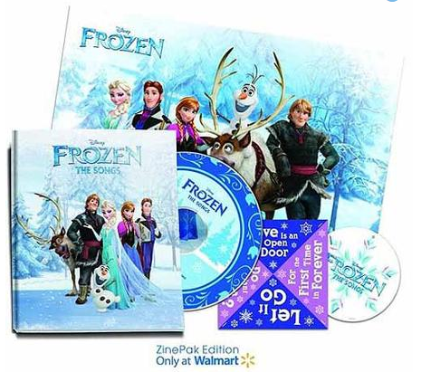 Frozen Zine pack at Walmart