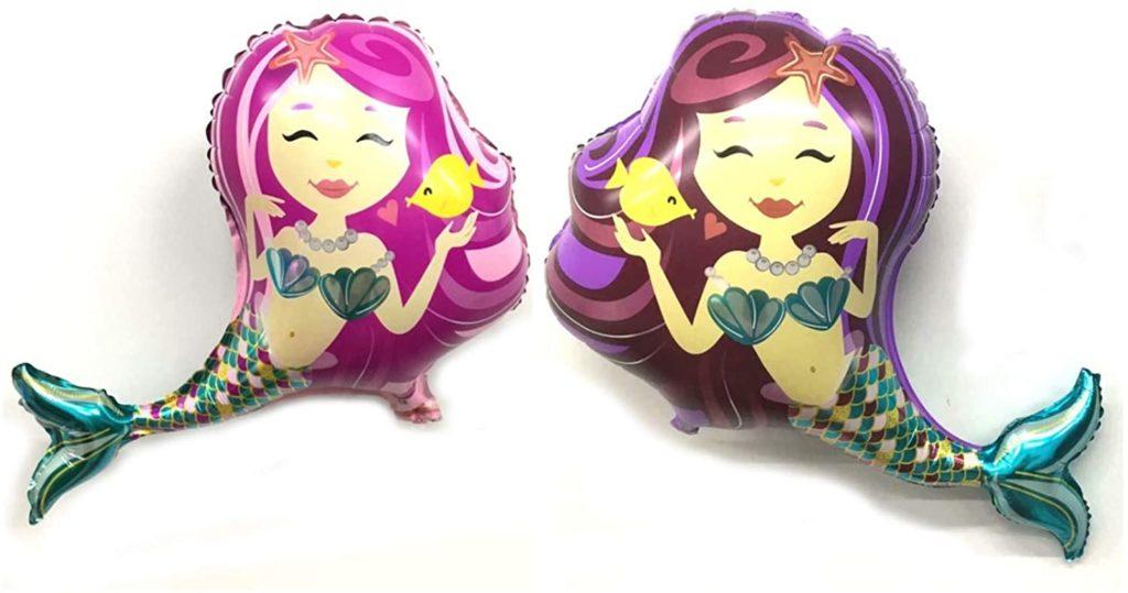 giant mermaid balloons