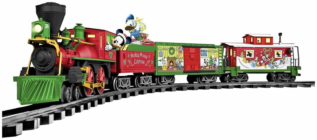 Looking for Lionel trains to put under your Christmas tree, give as a gift or set up for decoration? We rounded up some of our favorites including a Harry Potter, Mickey Mouse and Coca-Cola train set! Click to check them out! #trainset #Christmasgift #giftideas
