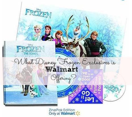 Walmart Disney Frozen Toys Exclusives