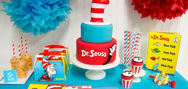 Dr Seuss Party Supplies