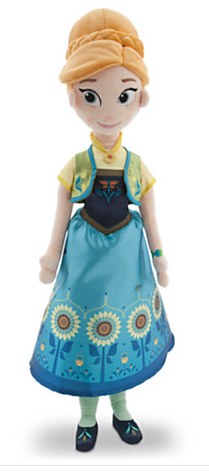 Frozen Fever Anna Doll