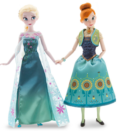 Frozen Fever Dolls