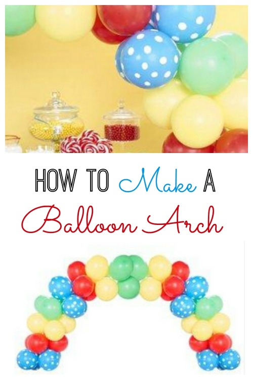 Want to make a Balloon Arch for your next party or make a statement with a balloon garland, but don't know where to start? Check out our guide on How to Make a Balloon Arch! #BalloonArch #Party #Balloons