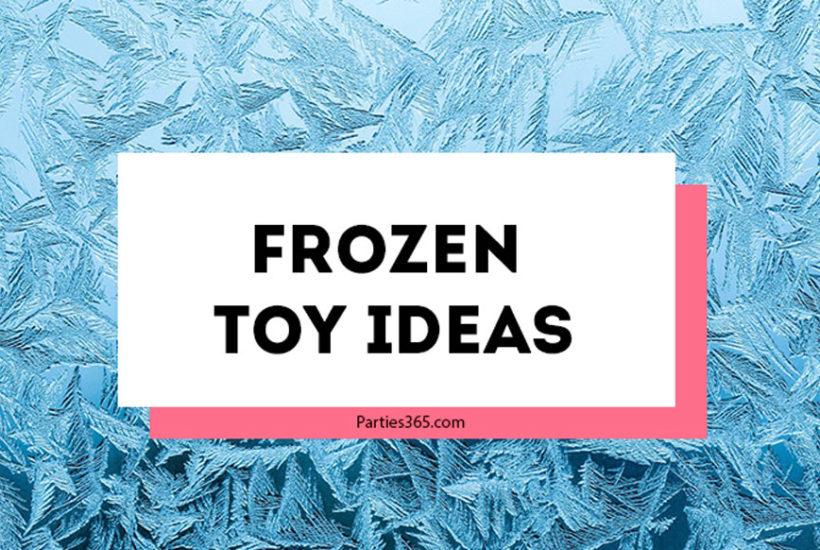 Frozen Toy Ideas