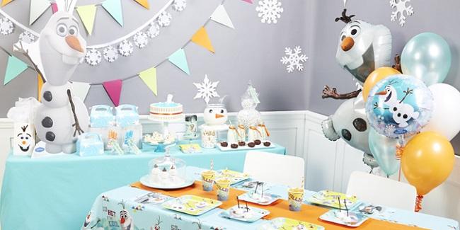 Olaf Birthday Party