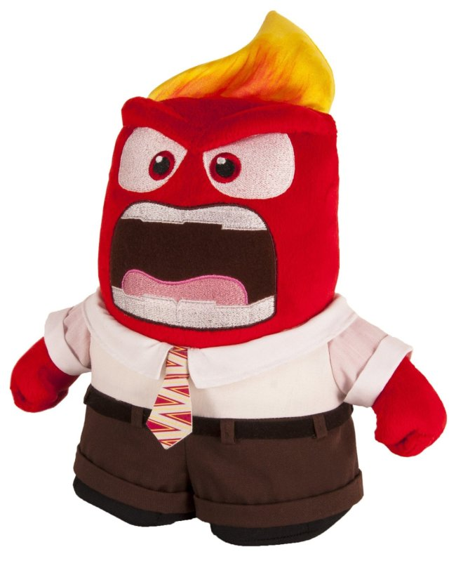Inside Out Toys Talking Plush Anger