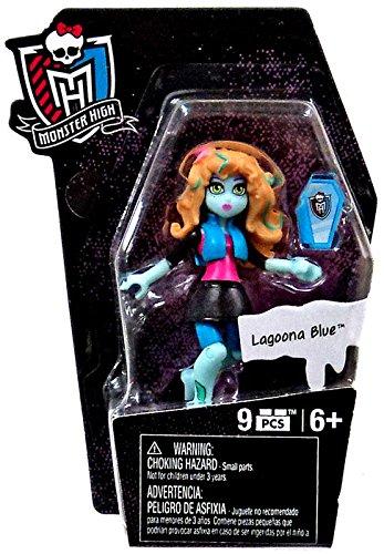 Mega Bloks Monster High Ghouls Skullection Lagoona Blue Mini Figure