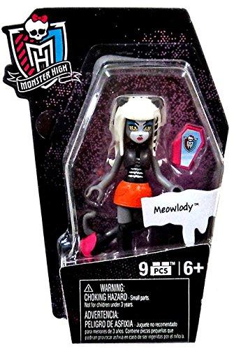 Mega Bloks Monster High Ghouls Skullection Meowlody Mini Figure