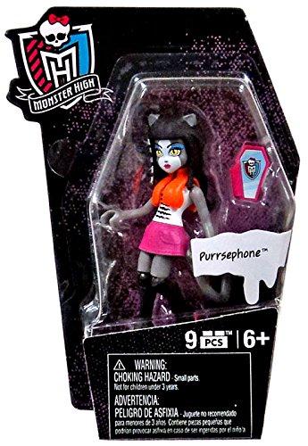 Mega Bloks Monster High Ghouls Skullection Purrsephone Mini Figure