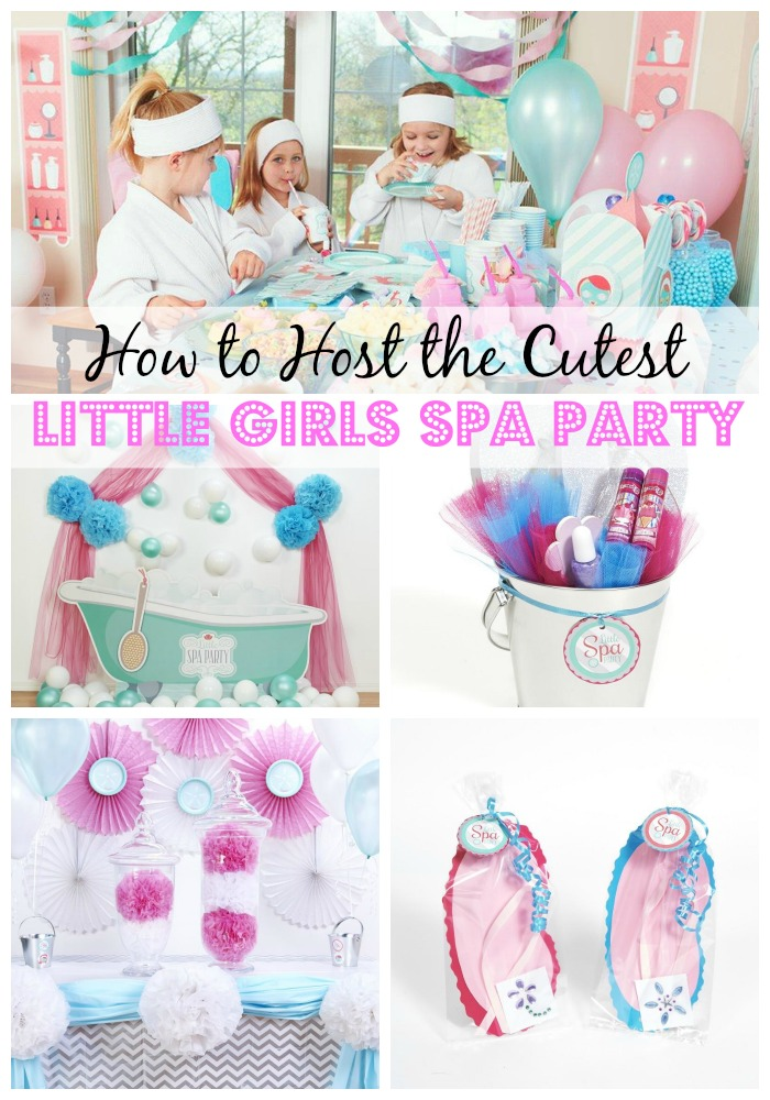 A Spa Party is a fabulous idea for your little girl's birthday! We have easy DIY decoration ideas for this fun theme for girls, including goodie bags, food, activities and more! #spaparty #girlsbirthday #partysupplies #partyideas