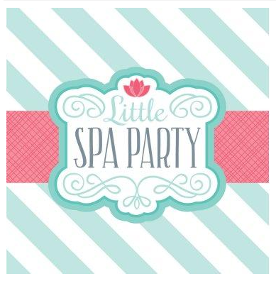 spa party ideas