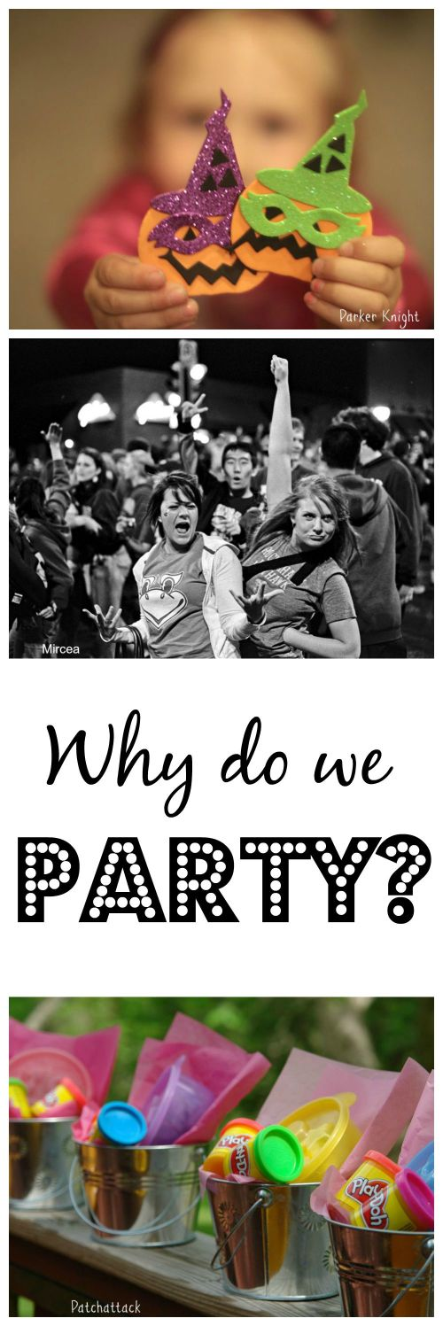 Why do we party Collage