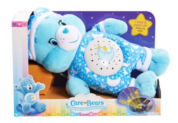 Care Bears Bedtime Magic Night Light Bear Plush