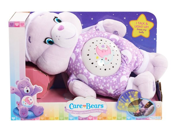 Care Bears Sweet Dream Magic Night Light Bear Plush