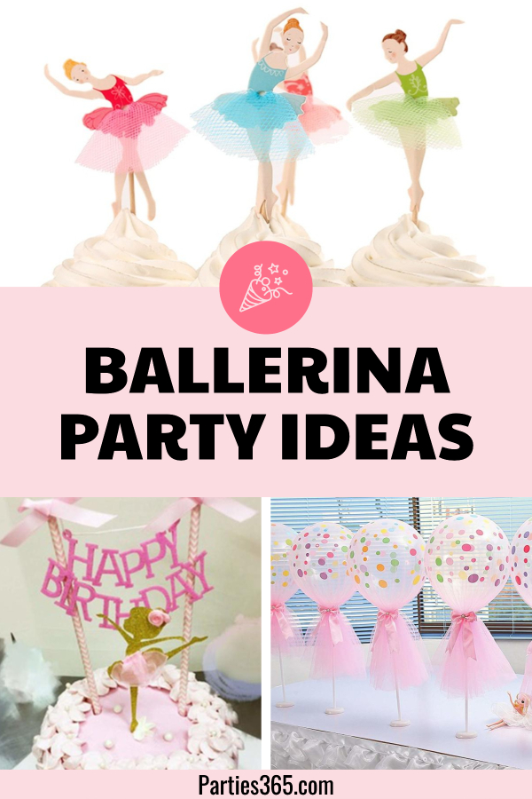 dbe9bfc8ddd4 Ballerina Birthday Party Ideas and Supplies
