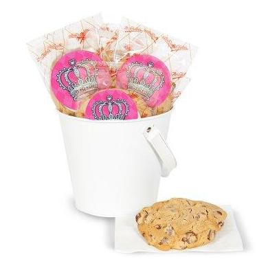 DIY Elegant Princess Damask Deluxe Cookie Favor Kit
