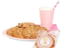 ballerina cookie favors