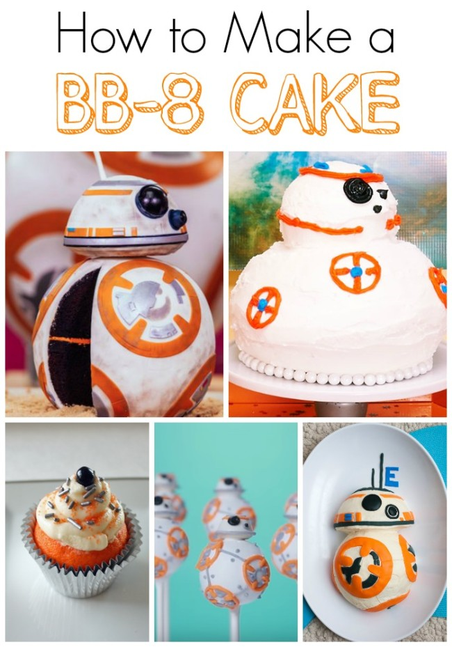 Make a BB-8 Cake Today!