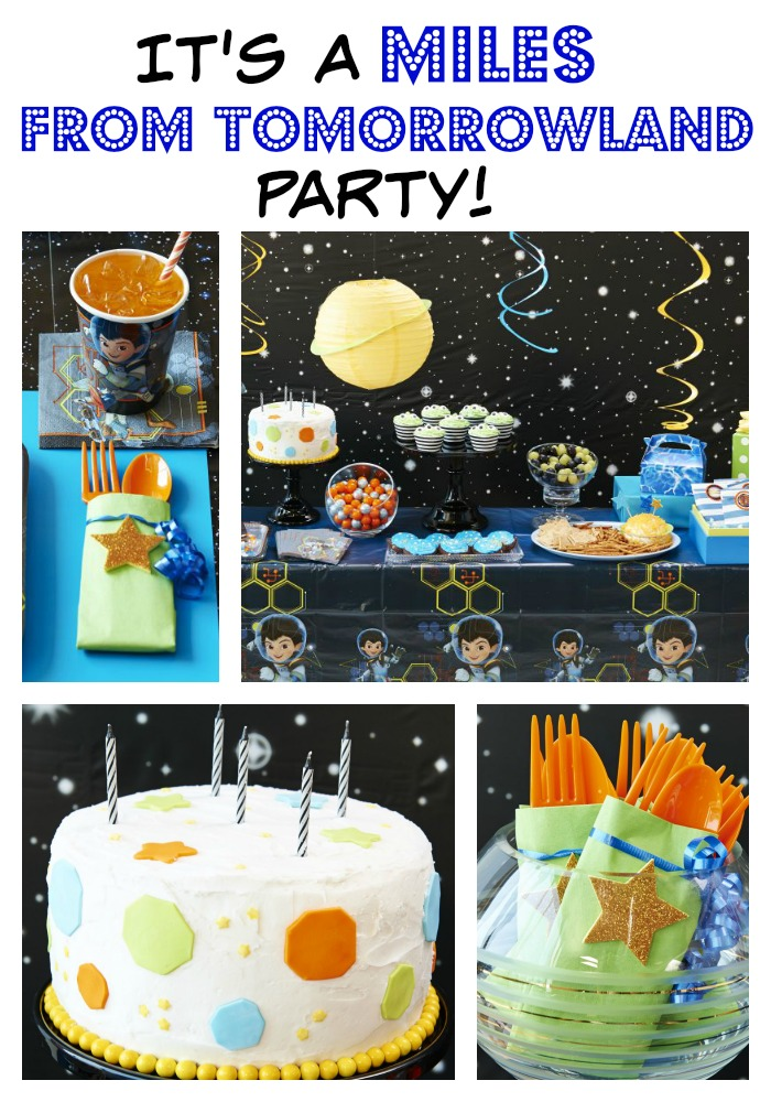 Miles From Tomorrowland Party Ideas Your Kid Will Freak Over